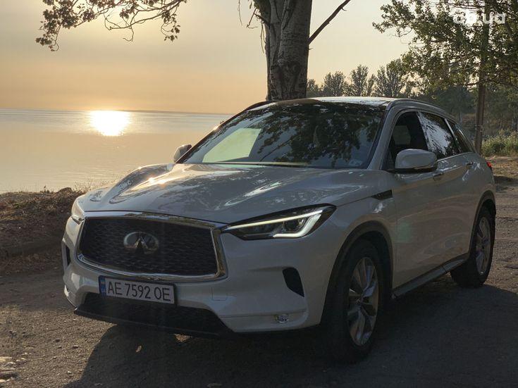 Infiniti QX50 2019 белый - фото 1