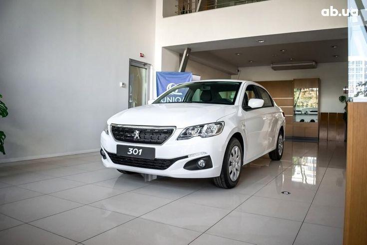 Peugeot 301 2020 белый - фото 1