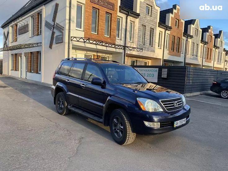 Lexus GX 2008 синий - фото 2