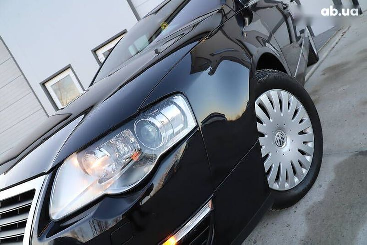 Volkswagen passat b6 2008 черный - фото 12