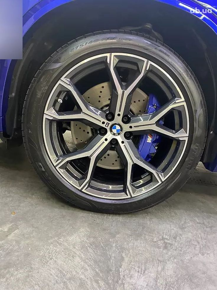 BMW X5 M 2020 синий - фото 9