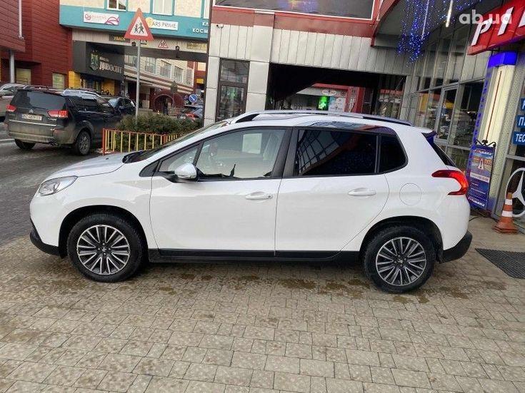 Peugeot 2008 2014 белый - фото 4