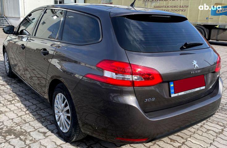 Peugeot 308 2015 коричневый - фото 6