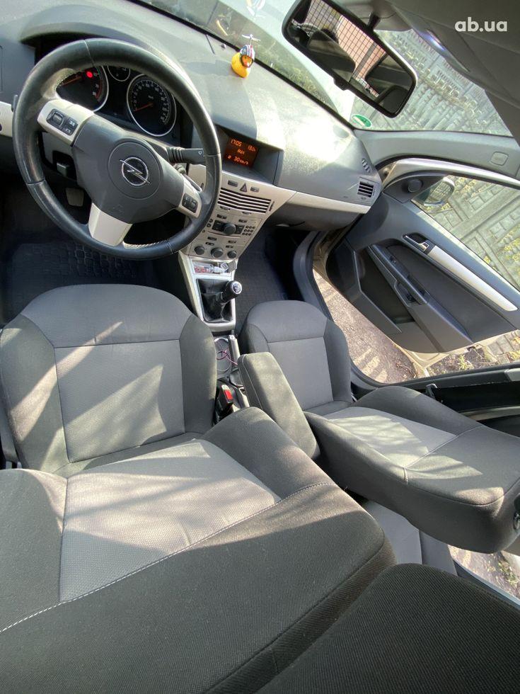 Opel Astra 2008 бежевый - фото 11