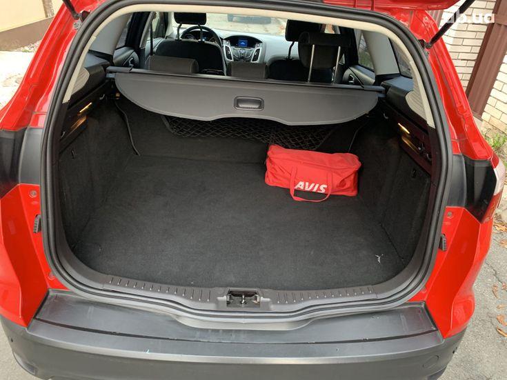 Ford Focus 2011 красный - фото 7