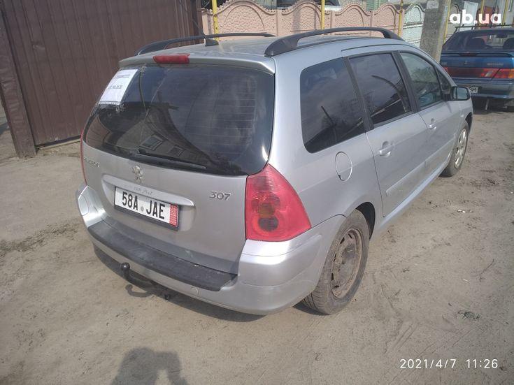 Peugeot 307 2005 серый - фото 10