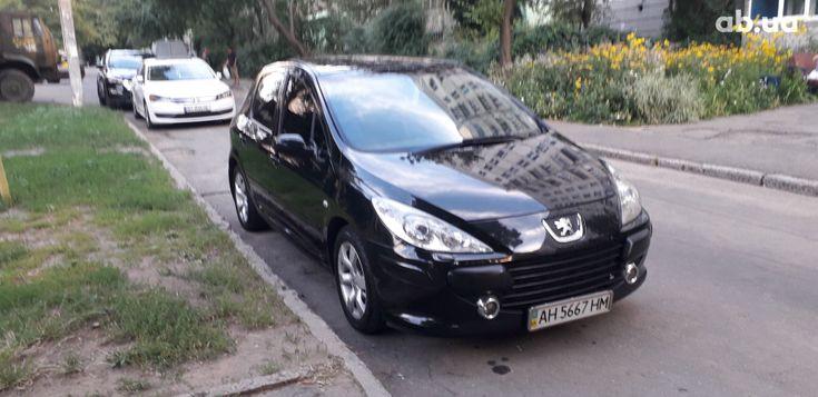 Peugeot 307 2006 черный - фото 3