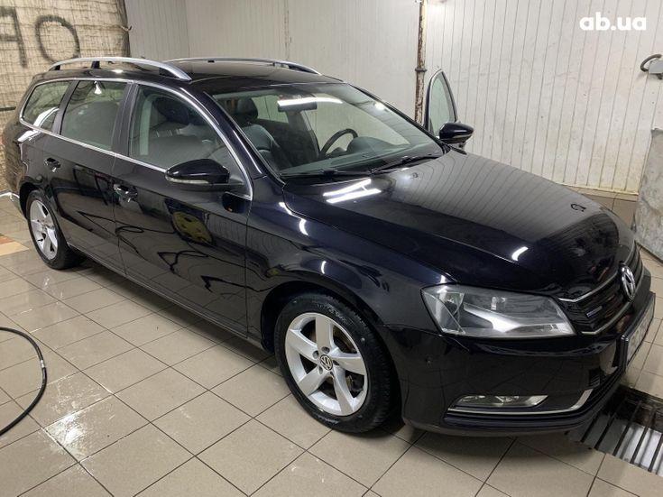 Volkswagen Passat 2014 черный - фото 1