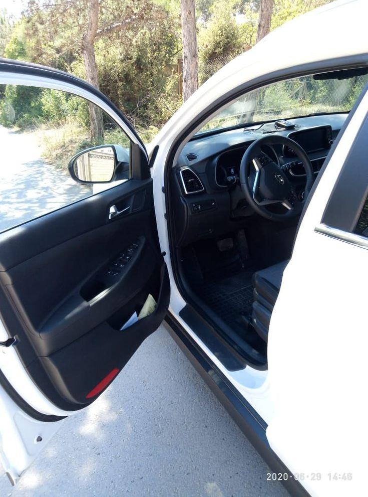 Hyundai Tucson 2019 белый - фото 6
