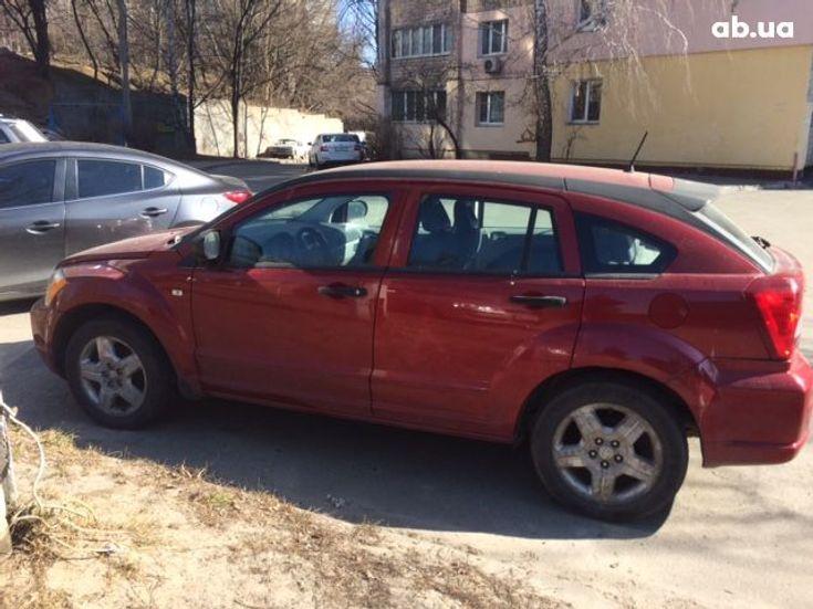 Dodge Caliber 2007 вишневый - фото 2