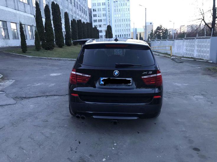 BMW X3 2013 черный - фото 3