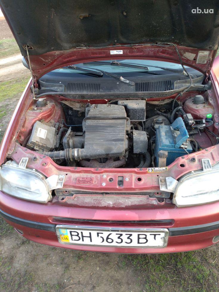 Fiat Punto 1998 красный - фото 10