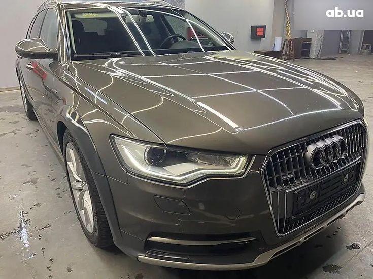 Audi A6 2015 коричневый - фото 1
