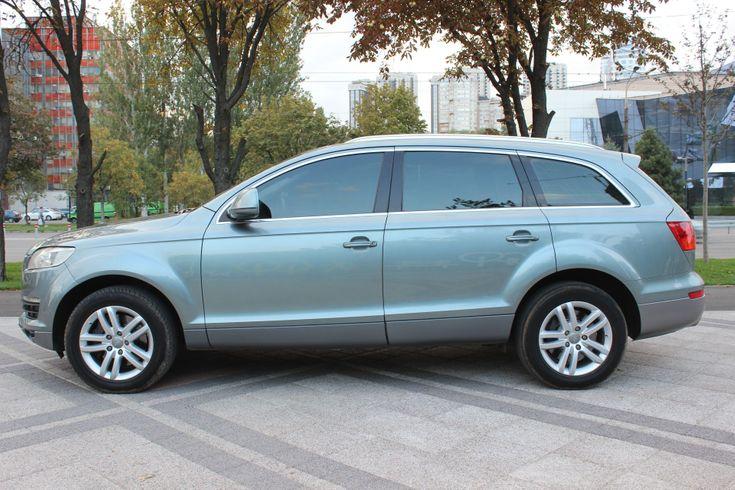Audi Q7 2007 серый - фото 11