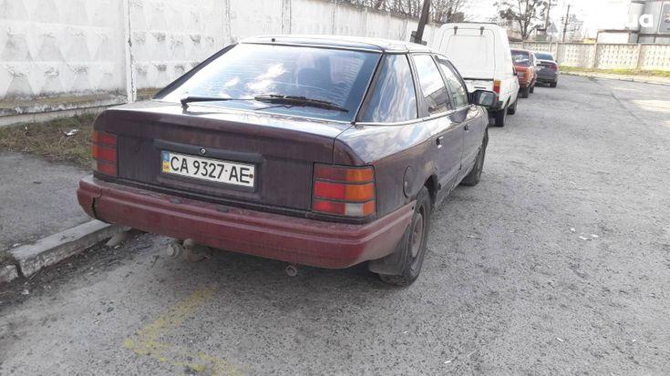 Ford Scorpio 1985 вишневый - фото 5
