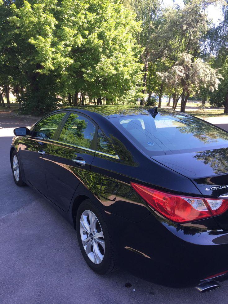 Hyundai Sonata 2011 черный - фото 4