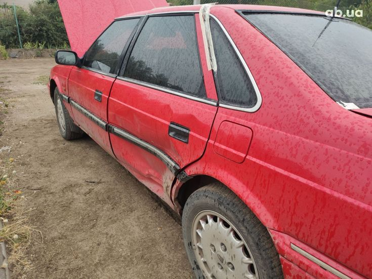 Rover 820 1994 красный - фото 4