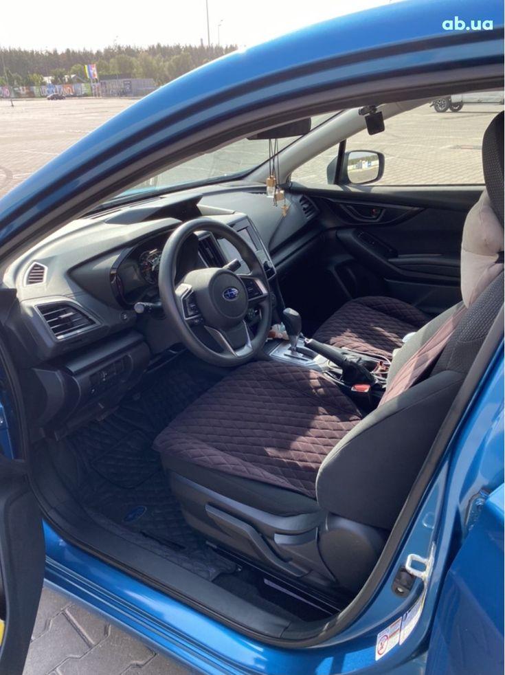 Subaru Impreza 2018 синий - фото 9