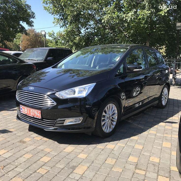 Ford C-Max 2018 черный - фото 1
