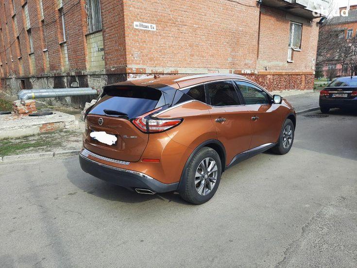 Nissan Murano 2015 оранжевый - фото 6