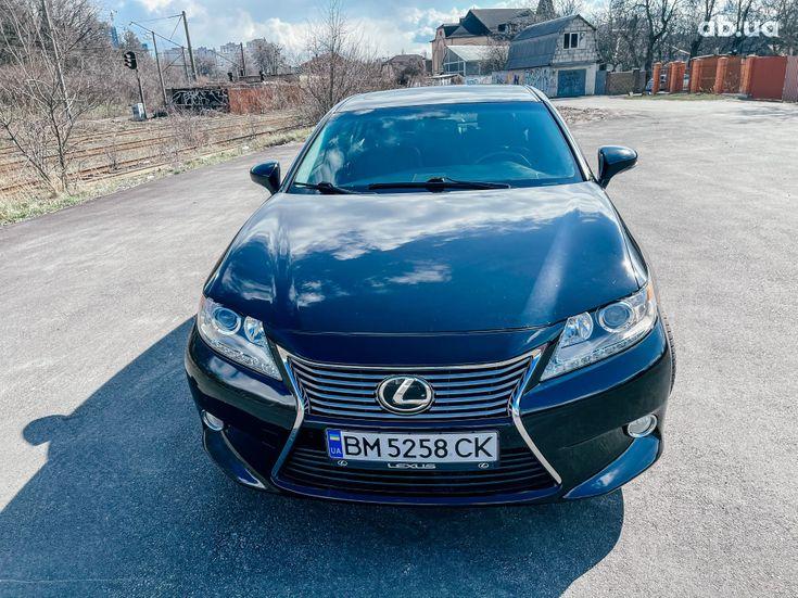 Lexus es 350 2013 черный - фото 10