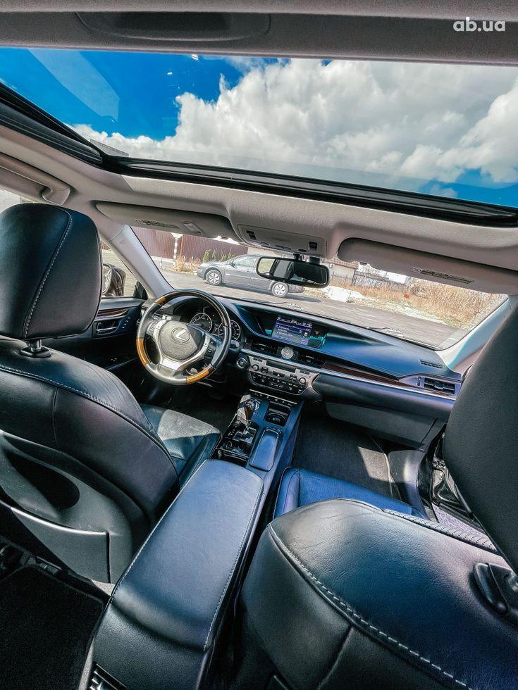 Lexus es 350 2013 черный - фото 4