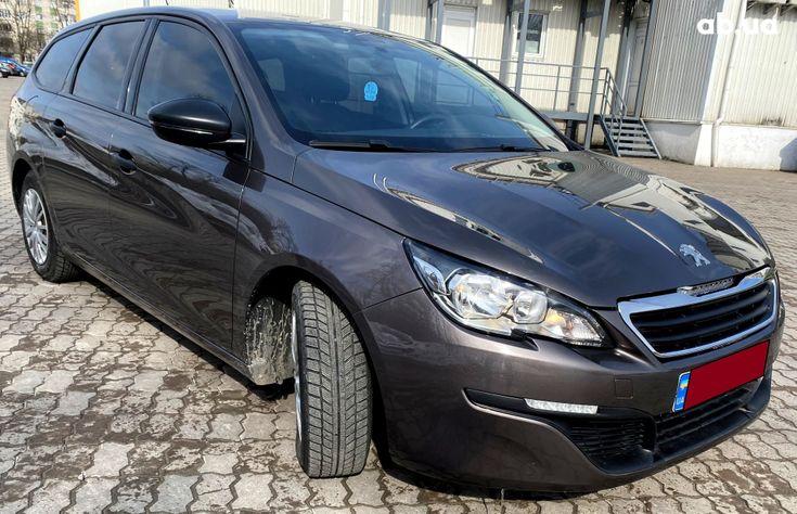 Peugeot 308 2015 коричневый - фото 1