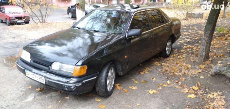 Ford Scorpio 1990 черный - фото 1