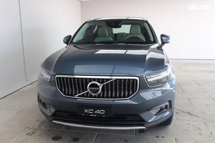 Volvo XC40 2019 серый - фото 2