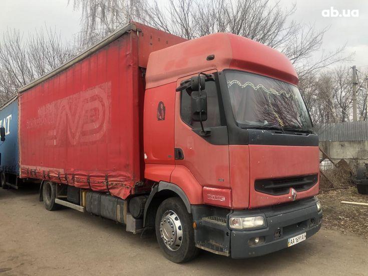 Renault Premium 2000 красный - фото 3