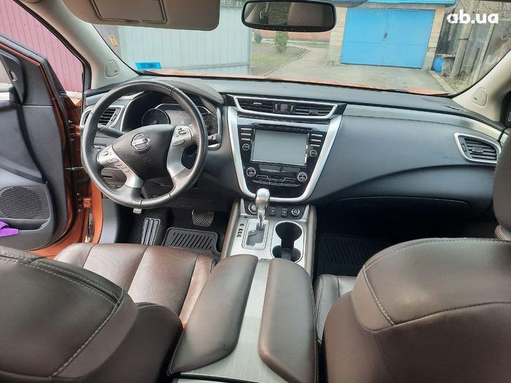 Nissan Murano 2015 оранжевый - фото 12