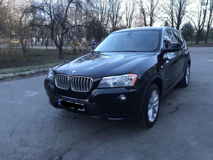 BMW X3 2013 черный - фото 1