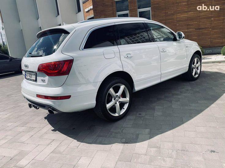 Audi Q7 2013 белый - фото 5