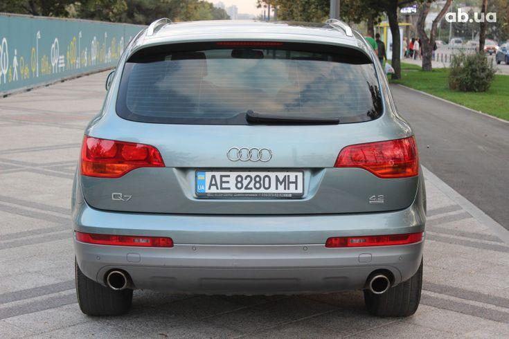 Audi Q7 2007 серый - фото 6