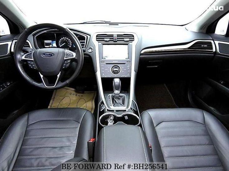 Ford Fusion 2014 синий - фото 4
