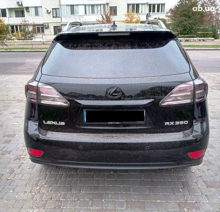 Lexus RX 2010 черный - фото 7