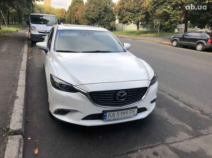 Mazda 6 2016 белый - фото 1