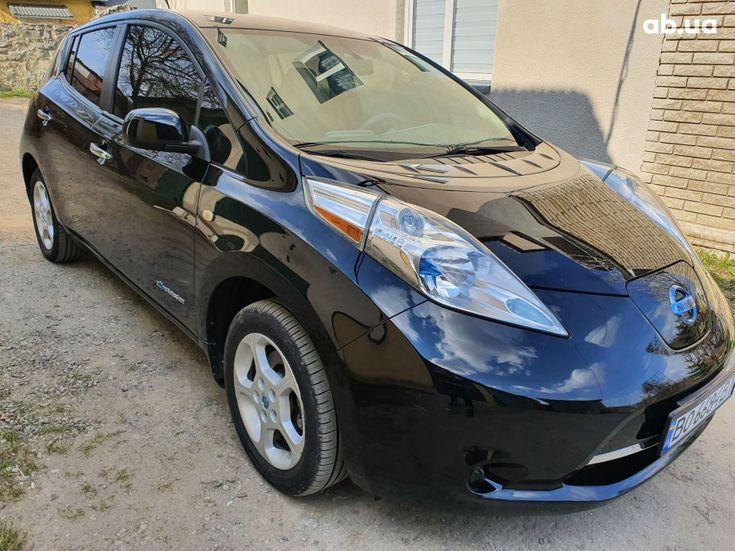Nissan Leaf 2014 черный - фото 4