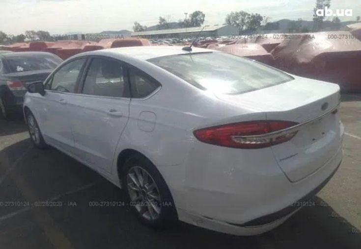 Ford Fusion 2016 белый - фото 3