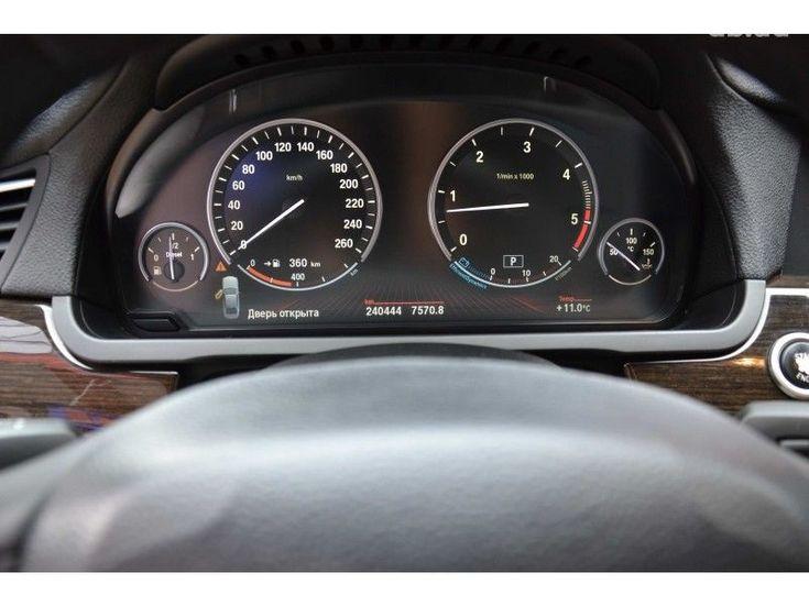 BMW 7 серия 2009 черный - фото 5