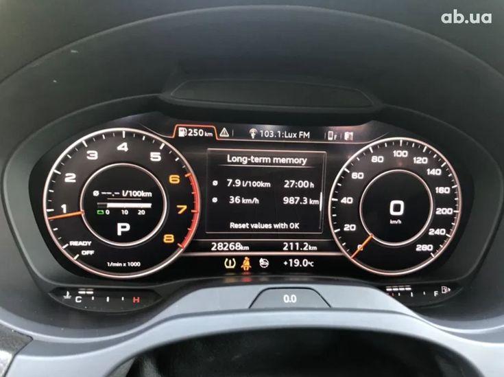 Audi A3 2018 белый - фото 14