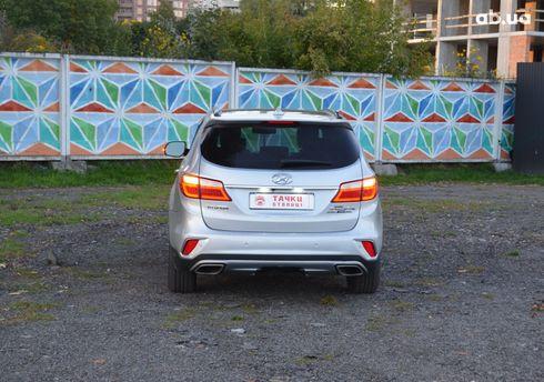Hyundai Santa Fe 2017 серый - фото 5