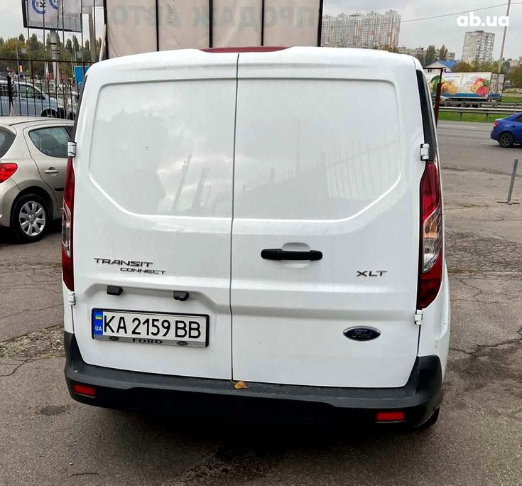 Ford Transit Connect 2017 белый - фото 2