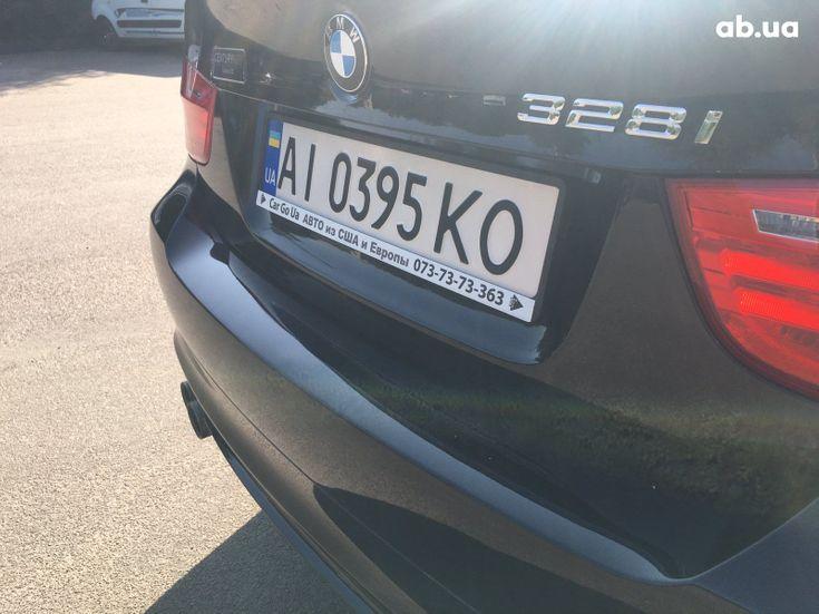 BMW 3 серия 2010 черный - фото 13