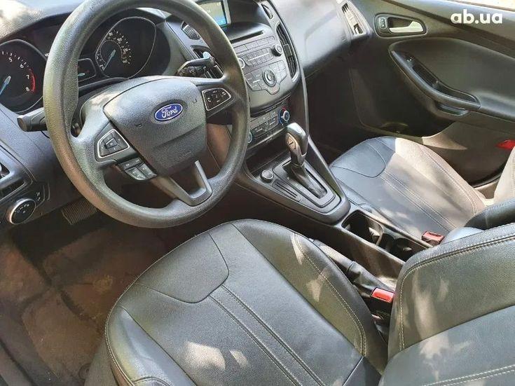 Ford Focus 2016 черный - фото 2