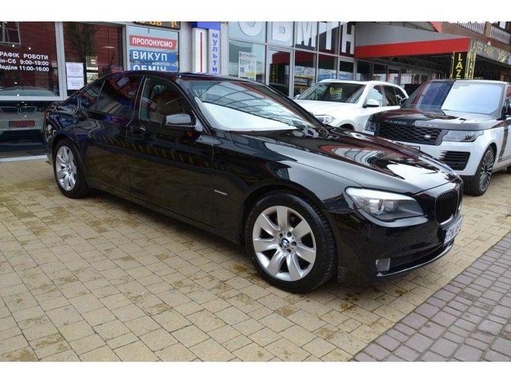 BMW 7 серия 2009 черный - фото 2