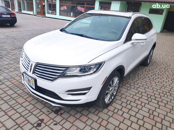 Lincoln MKC 2015 белый - фото 1