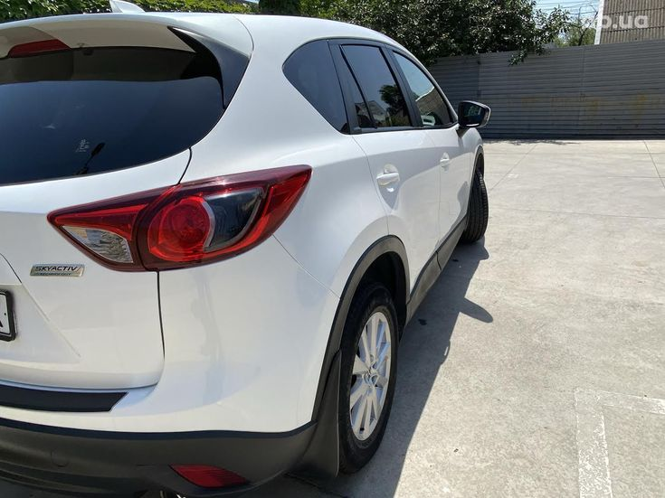 Mazda CX-5 2014 белый - фото 6