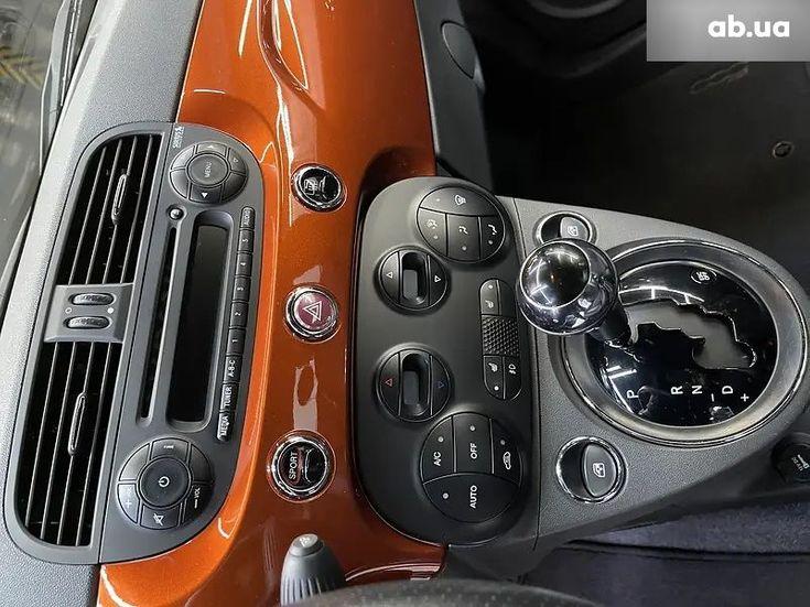 Fiat 500 2016 коричневый - фото 13