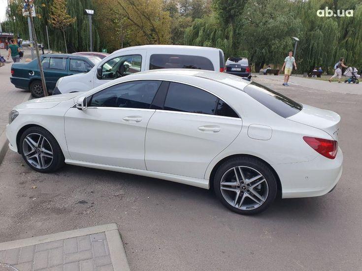 Mercedes-Benz CLA-Класс 2014 белый - фото 4